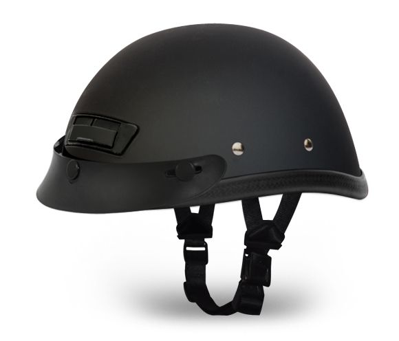 Eagle Deluxe with Air Vent And Snaps- Dull Black