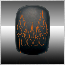 Phantom- Vinyl Flame Embroidery In Orange