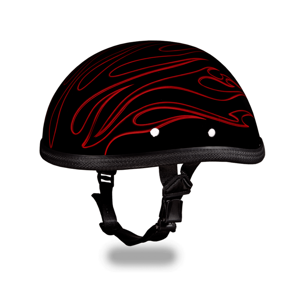 Eagle- W/ Red Flames | Daytona Helmets