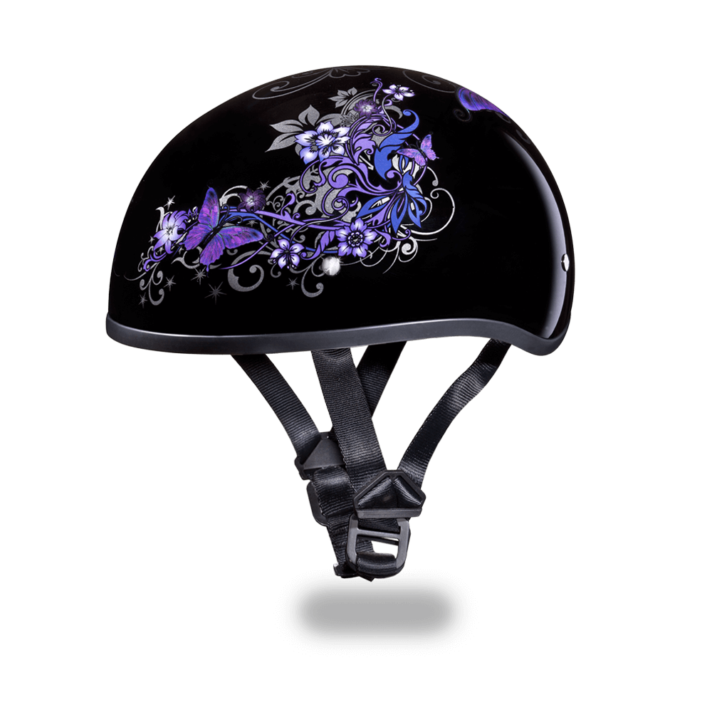 Daytona Graphic  Motorcycle Helmets | Butterfly | D.O.T. Approved