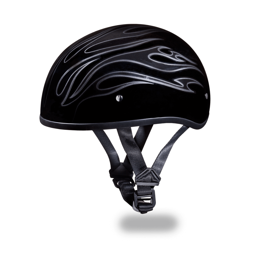 Daytona Graphic Motorcycle Helmets |  Flames | D.O.T. Approved