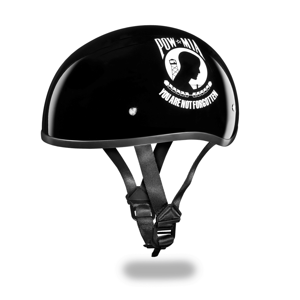 Daytona Graphic Motorcycle Helmets |  POW-MIA | D.O.T. Approved