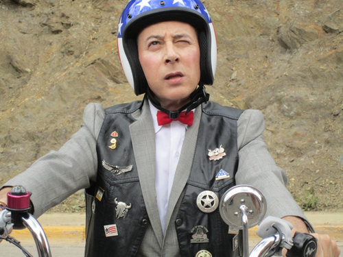 Hmmm??? | Pee Wee Goes To Sturgis