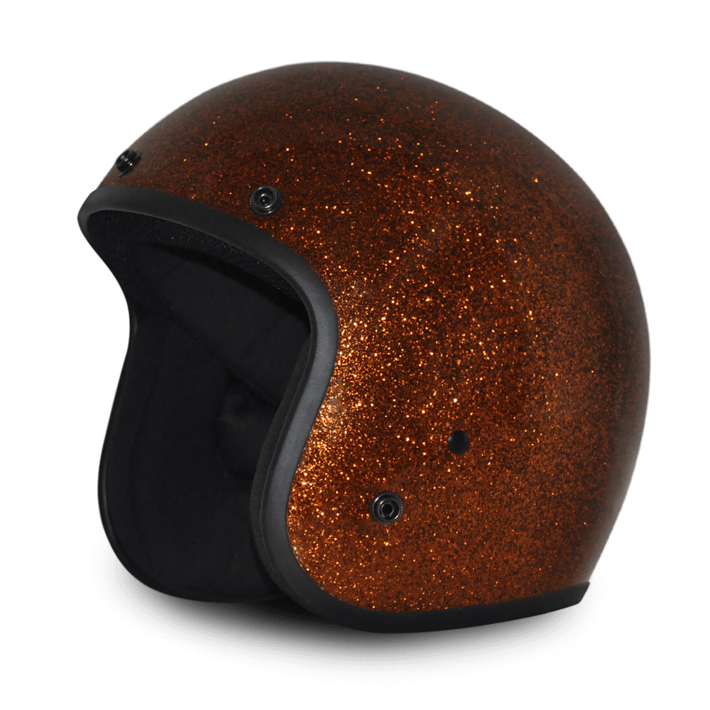 D.O.T. Daytona Cruiser | Root Beer Metal Flake Helmet