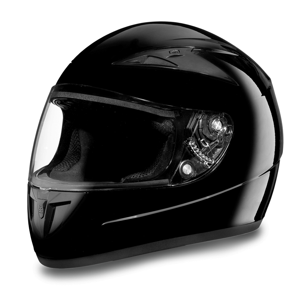 Daytona Helmets Motorcycle Full Face Helmet Shadow Hi