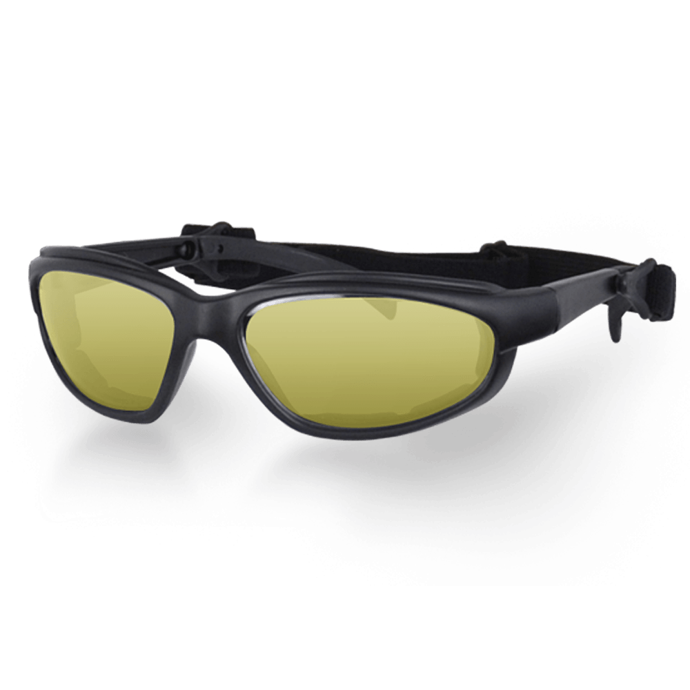 Motorcycle Helmet Goggles Yellow