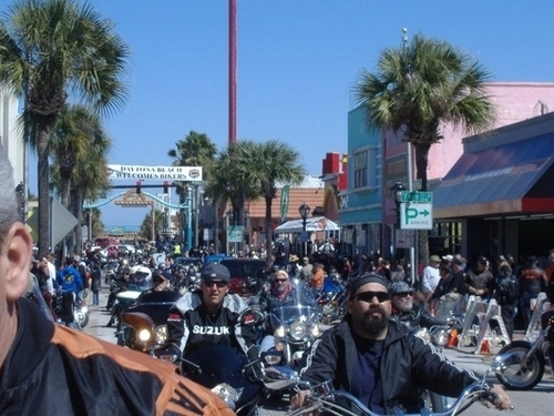 Main Street | Bike Week 2010