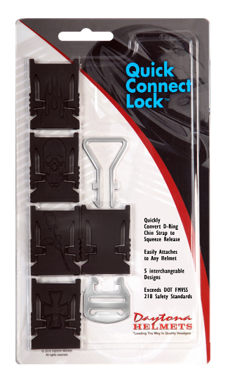 ADD ON QUICK CONNECT LOCK- BLACK (Single)