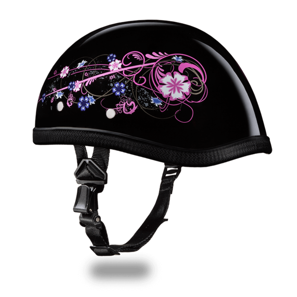 Eagle with Flowers Motorcycle Helmets | Daytona Helmets