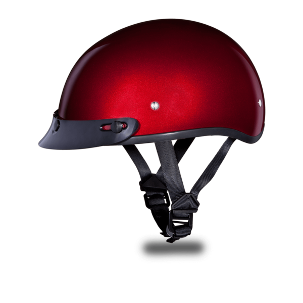 Black Cherry Metallic Motorcycle Helmets | D.O.T. Approved Helmet