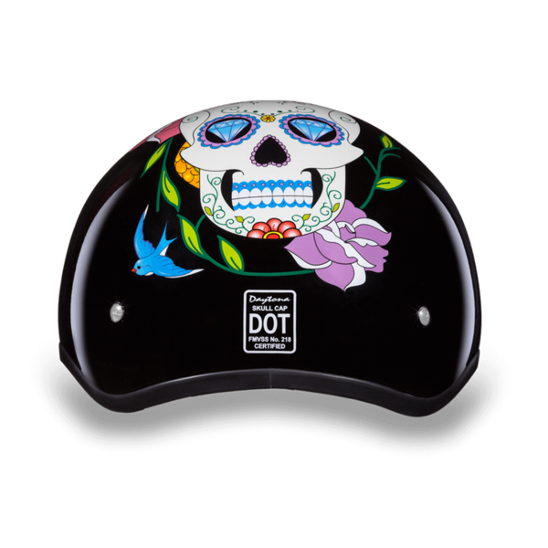 Graphic Motorcycle Helmets Diamond Skull | D.O.T. Approved