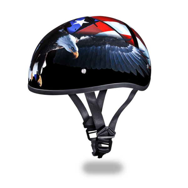 Graphic Motorcycle Helmets Freedom | D.O.T. Approved