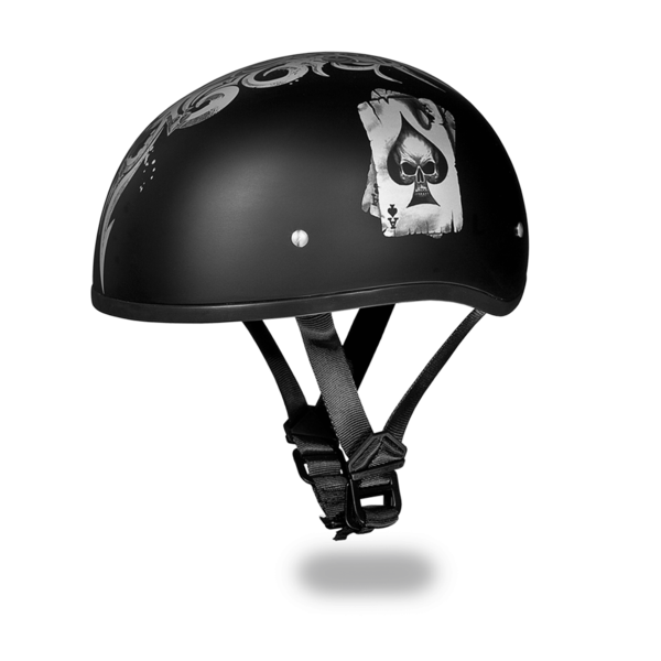 Graphic Motorcycle Helmets Spades | D.O.T. Approved