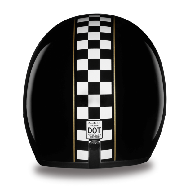 D.O.T. Approved Cafe Racer Helmet | 3/4 Shell Helmets