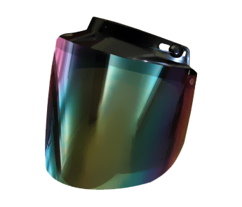 Motorcycle Helmet Flip Up Visor Rainbow | Daytona Helmets