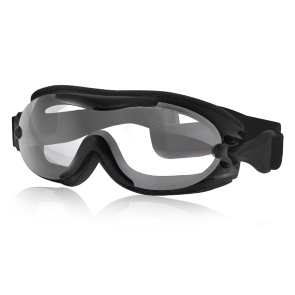 Motorcycle Helmet Fit Over Goggles Clear