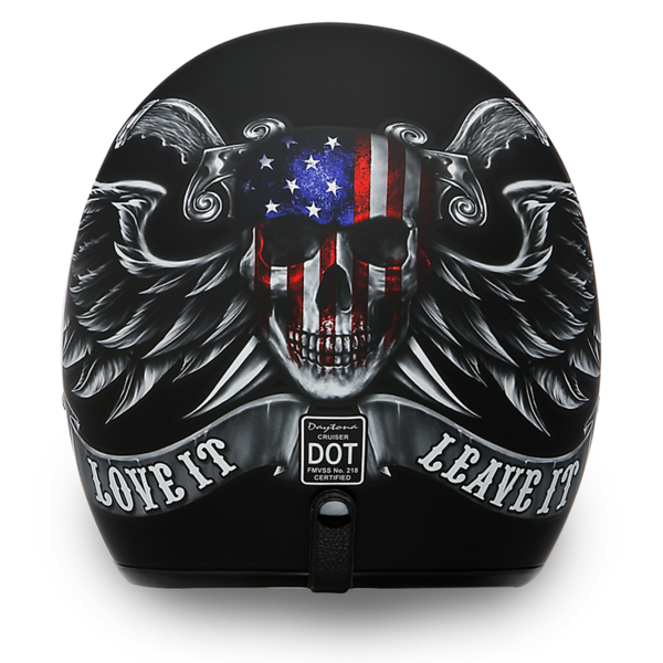 D.O.T. Approved Love It | 3/4 Shell Helmets D.O.T. Approved Helmet
