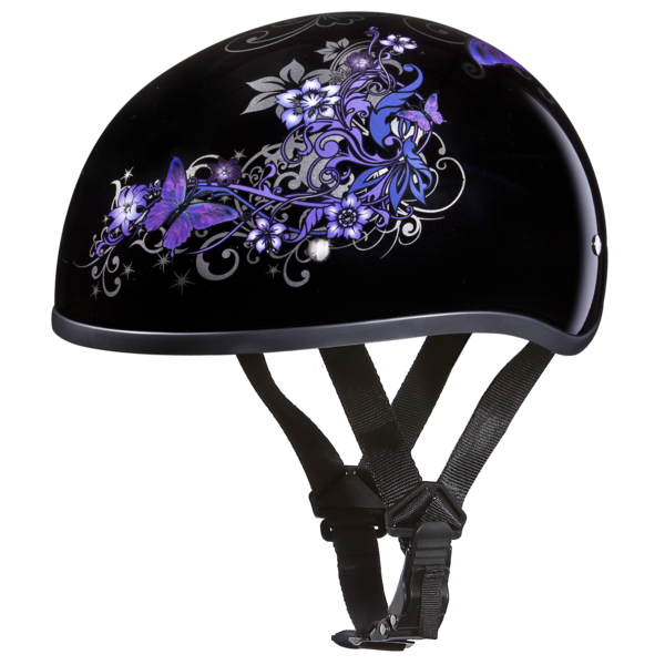 Graphic Motorcycle Helmets Butterfly | D.O.T. Approved Helmet