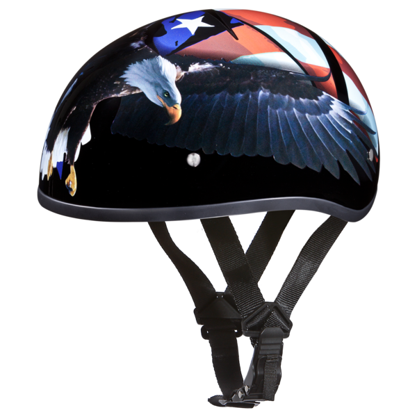 Graphic Motorcycle Helmets Freedom | D.O.T. Approved Helmet