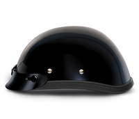 Eagle with Snaps- Hi-Gloss Black | Daytona Helmets