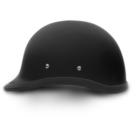 Hawk- Dull Black | Daytona Helmets