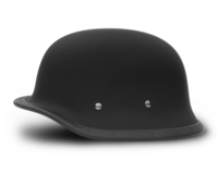 Big German- Dull Black | Daytona Helmets