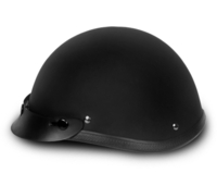 Smokey with Snaps- Dull Black | Daytona Helmets