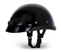 EAGLE DELUXE W/ AIR VENT AND SNAPS- HI-GLOSS BLACK
