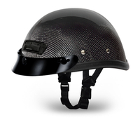 EAGLE DELUXE W/AIR VENT AND SNAPS FOR VISOR- GREY CARBON FIBER