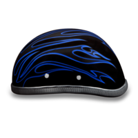 Eagle- W/ Blue Flames | Daytona Helmets