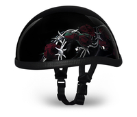 Eagle- W/ Barbed Roses | Daytona Helmets