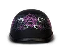 Eagle- W/ Purple Rose | Daytona Helmets
