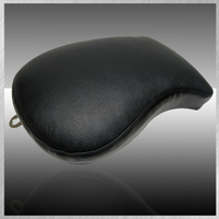 PHANTASM- PLAIN BLACK LEATHER WITH BRACKET
