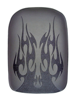 PHANTOM- LARGE SOLID EMBROIDERY VINYL FLAME BLACK