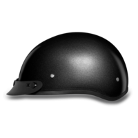 Gun Metal Grey Metallic Motorcycle Helmets