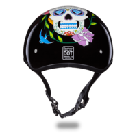 Daytona Graphic Motorcycle Helmets | Diamond Skull | D.O.T. Approved