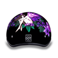 Daytona Graphic Motorcycle Helmets | Fairy | D.O.T. Approved