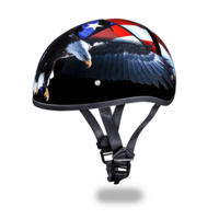 Daytona Graphic Motorcycle Helmets  | Freedom | D.O.T. Approved