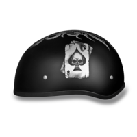 Daytona Graphic Motorcycle Helmets | Spades | D.O.T. Approved