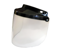 Motorcycle Helmet Flip Up Visor Clear | Daytona Helmets