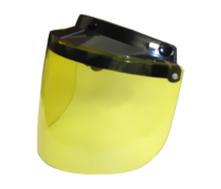 Image FLIP UP VISOR- YELLOW