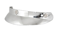Image HALF BUBBLE VISOR- CHROME