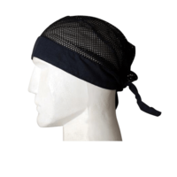 Motorcycle Helmet Head Wrap - Black | Daytona Helmets