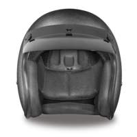 D.O.T. Gun Metal Grey Metallic Motorcycle Helmets | 3/4 Shell | Daytona Cruiser