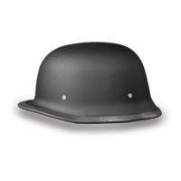 German Motorcycle Helmets | Dull Black