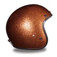 Cruiser Root Beer Metal Flake Helmet  | 3/4 Shell Helmets
