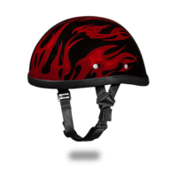 Image EAGLE- W/ FLAMES RED